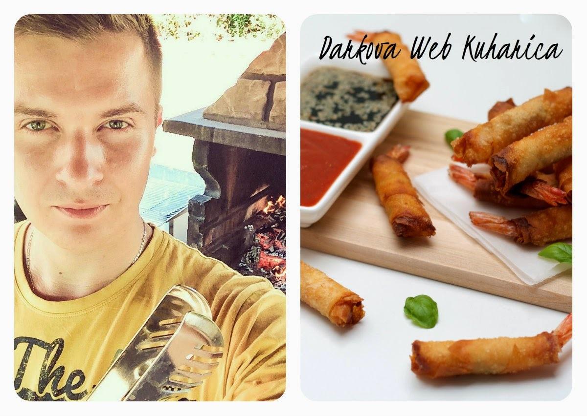 Blogorođendan - gostovanje DARKOVA WEB KUHARICA/ recept Firecracker Shrimps...