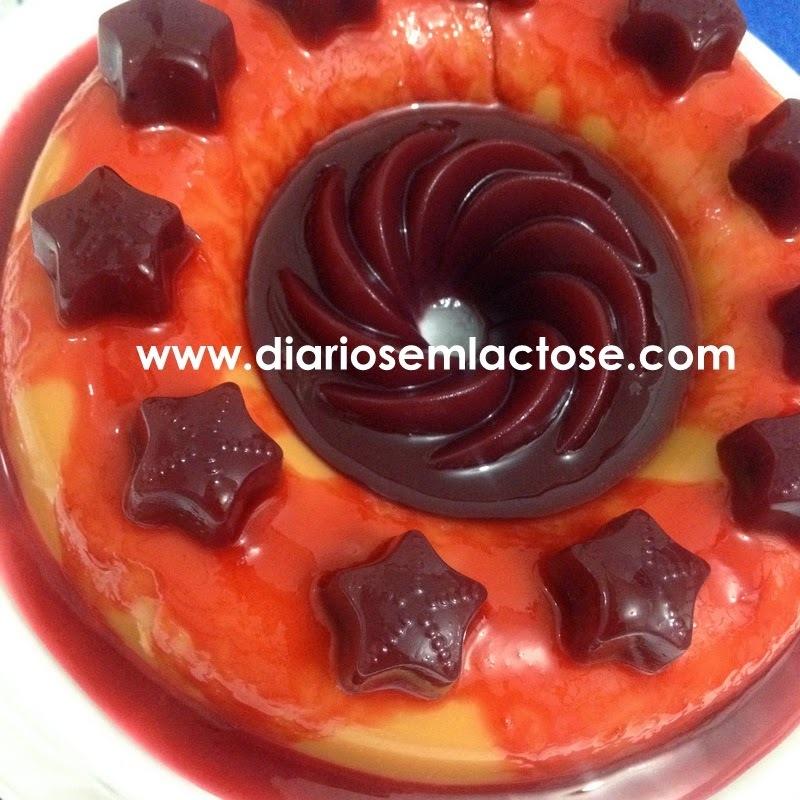 Sobremesa de Acerola e Frutas Vermelhas