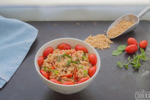 Σαλατα με σιταρι και τονο | Farro Salad with Tuna