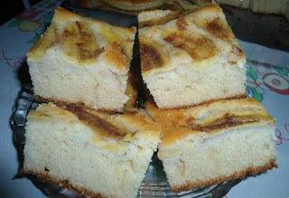 banana torta liquidificador