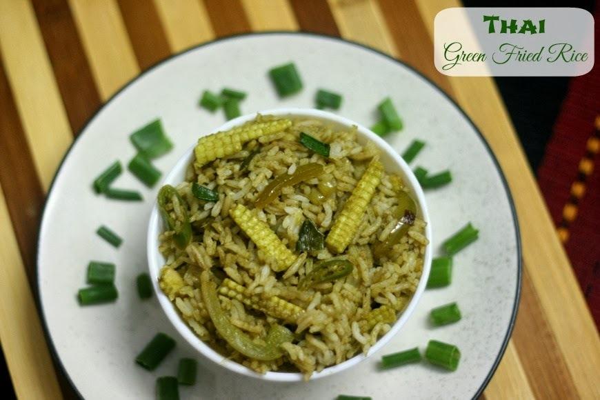 Thai Green Fried Rice | Simple Thai Cooking