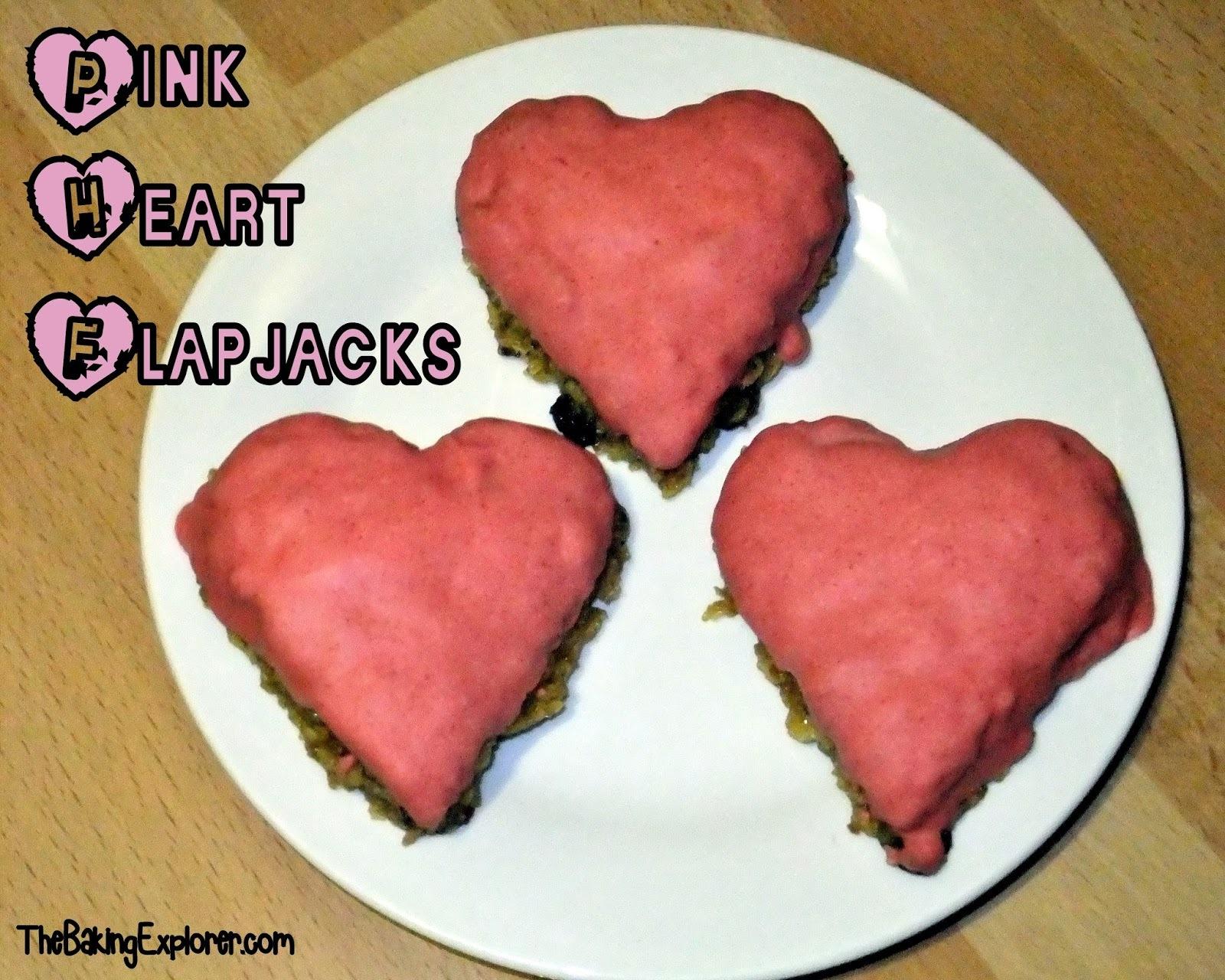 heart flapjacks