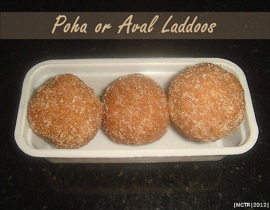 Poha Laddoos / Aval Laddoos | Diwali Sweet Recipes | Poha Recipes