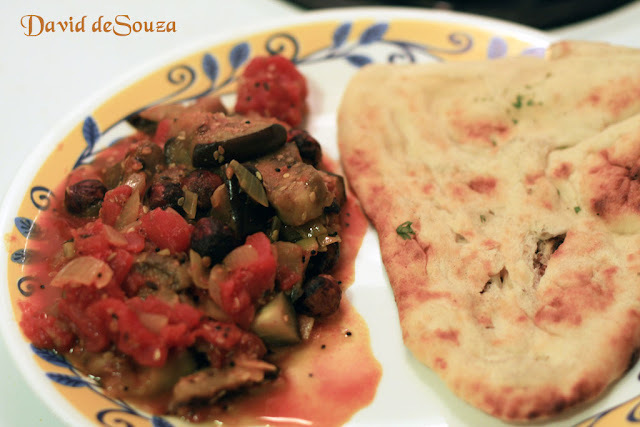 Eggplant Tomato Curry (Andhra Style) - Vahchef