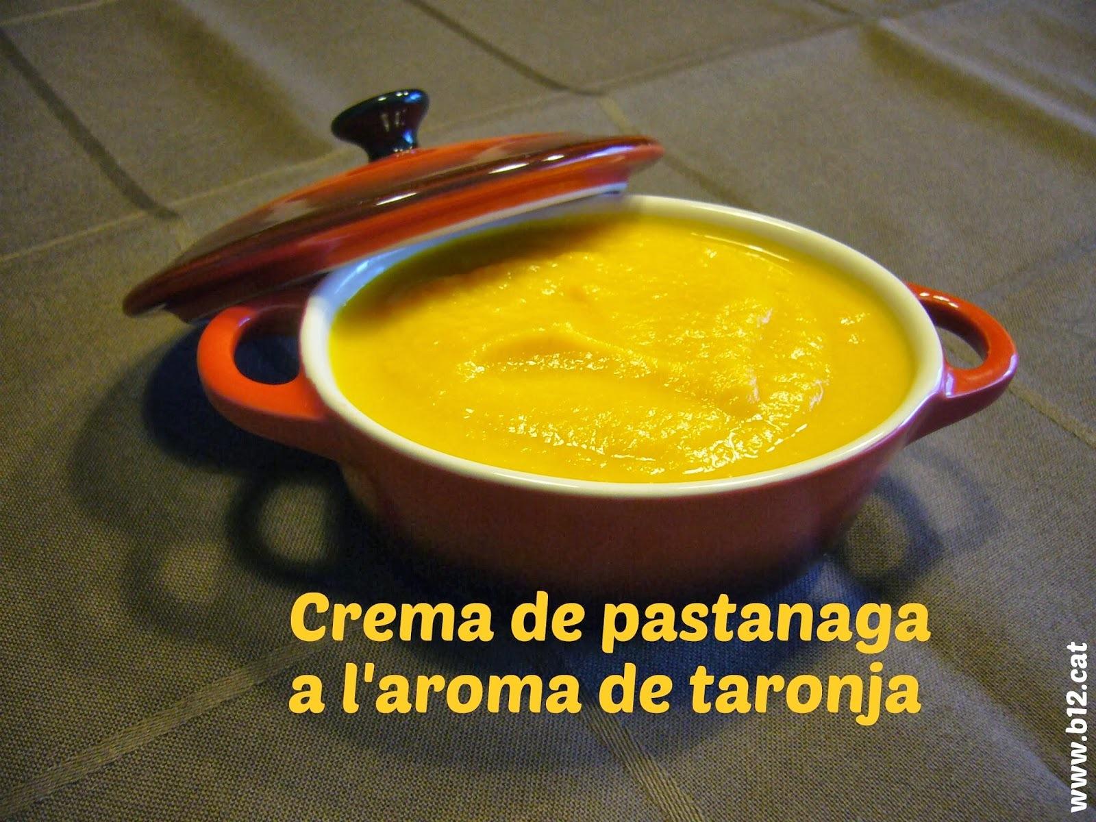 Crema de pastanaga a l'aroma de taronja