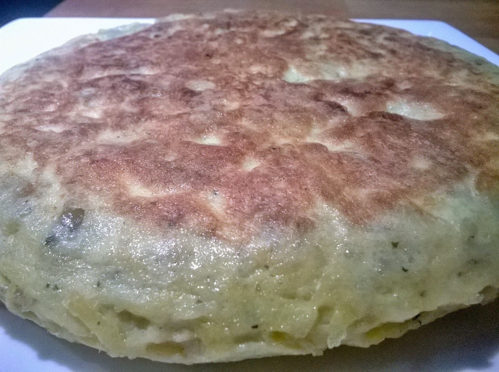 Tortilla de Patata con queso emmental