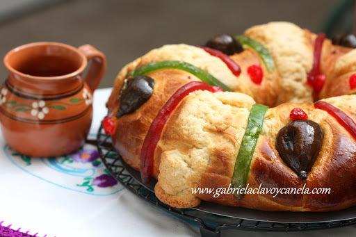 Rosca de reyes (estilo mexicano)