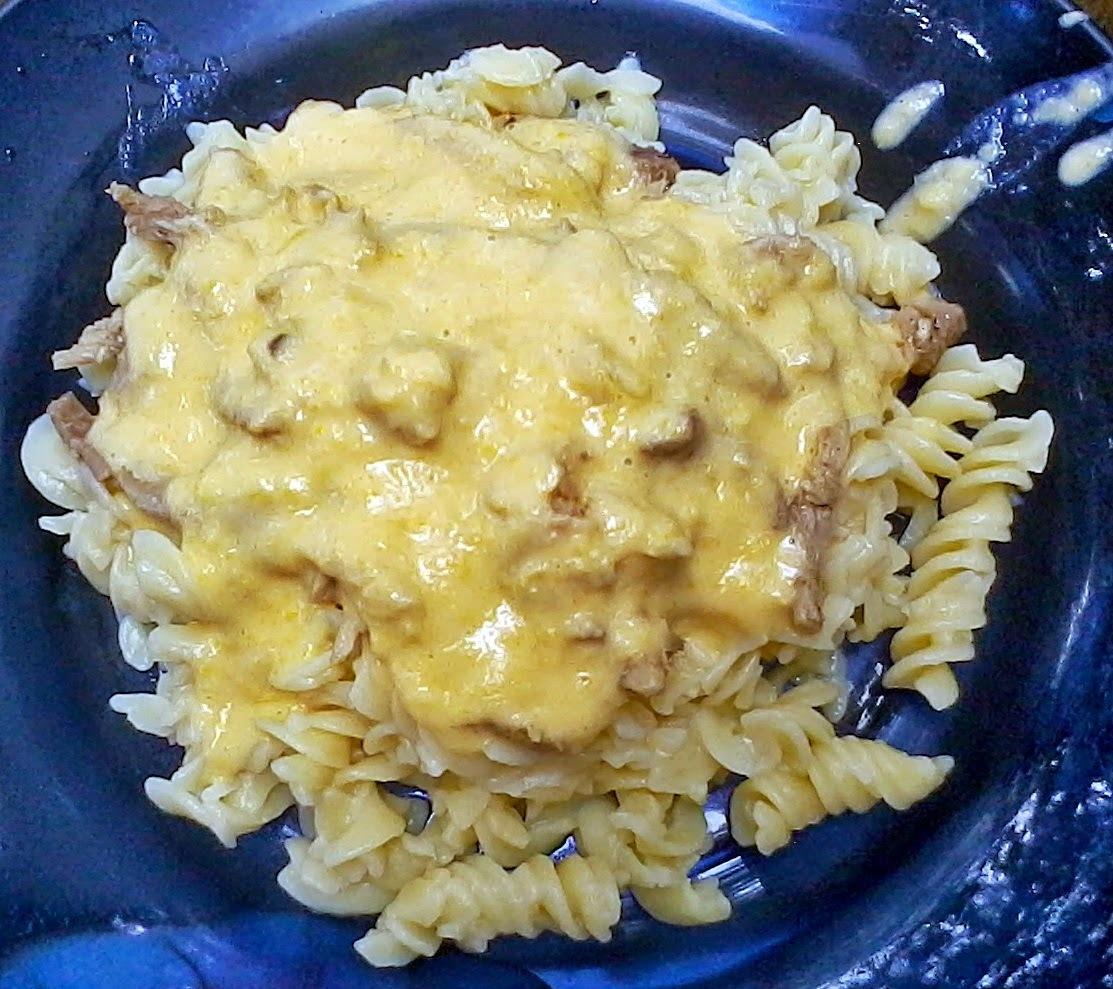 Receita da vez: Macarrão Tivva Tradicional com creme de milho e frango desfiado