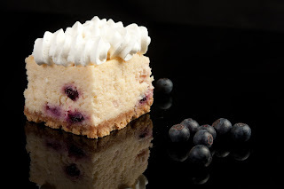 Cheesecake de Limón y Blueberry