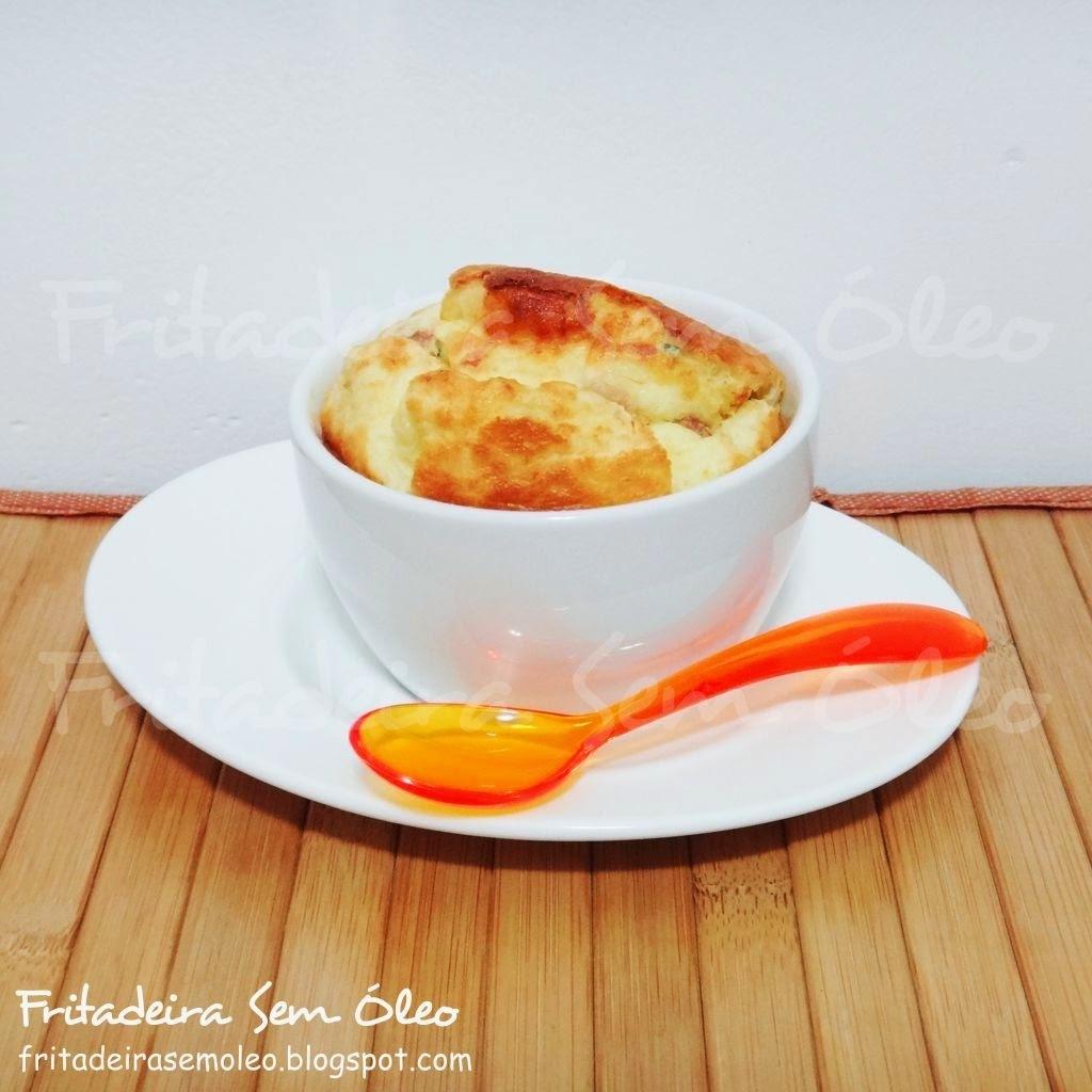 sufle de batata com milho verde