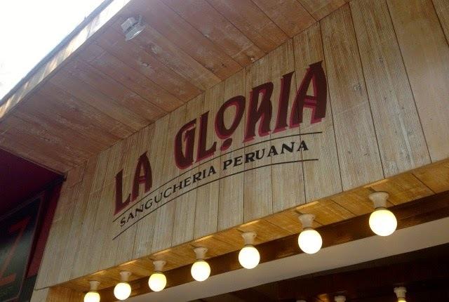 Recomiendo: La Gloria, Sanguchería Peruana