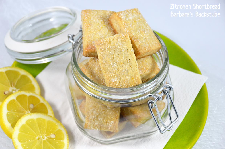 Zitronen Shortbread