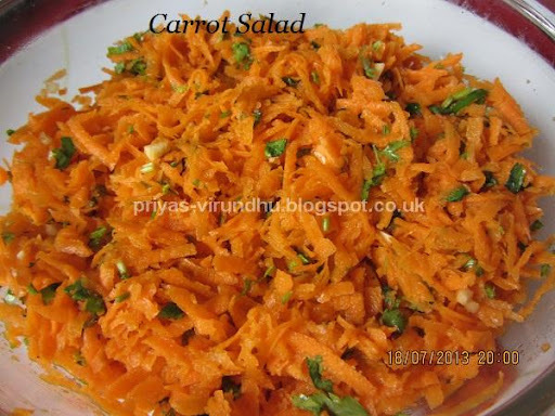 Grated Moroccan Carrot Salad