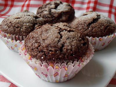 Kakaós, kekszes muffin