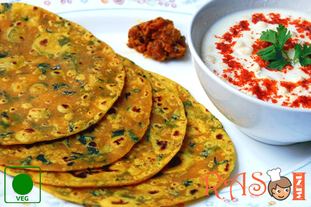 Methi Thepla Recipe - Gujarati Thepla Recipe