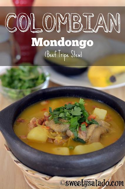 Colombian Mondongo (Beef Tripe Stew)