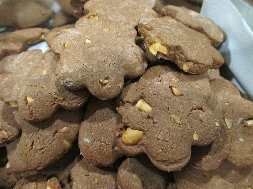 Bolachas de Nutella e Amendoim