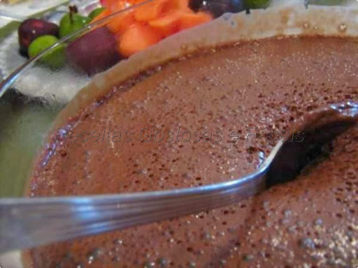Mousse de Chocolate Rápido