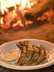 como fazer sardinha frita acompanhamento