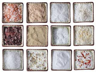 Conheça os diferentes tipos de sal