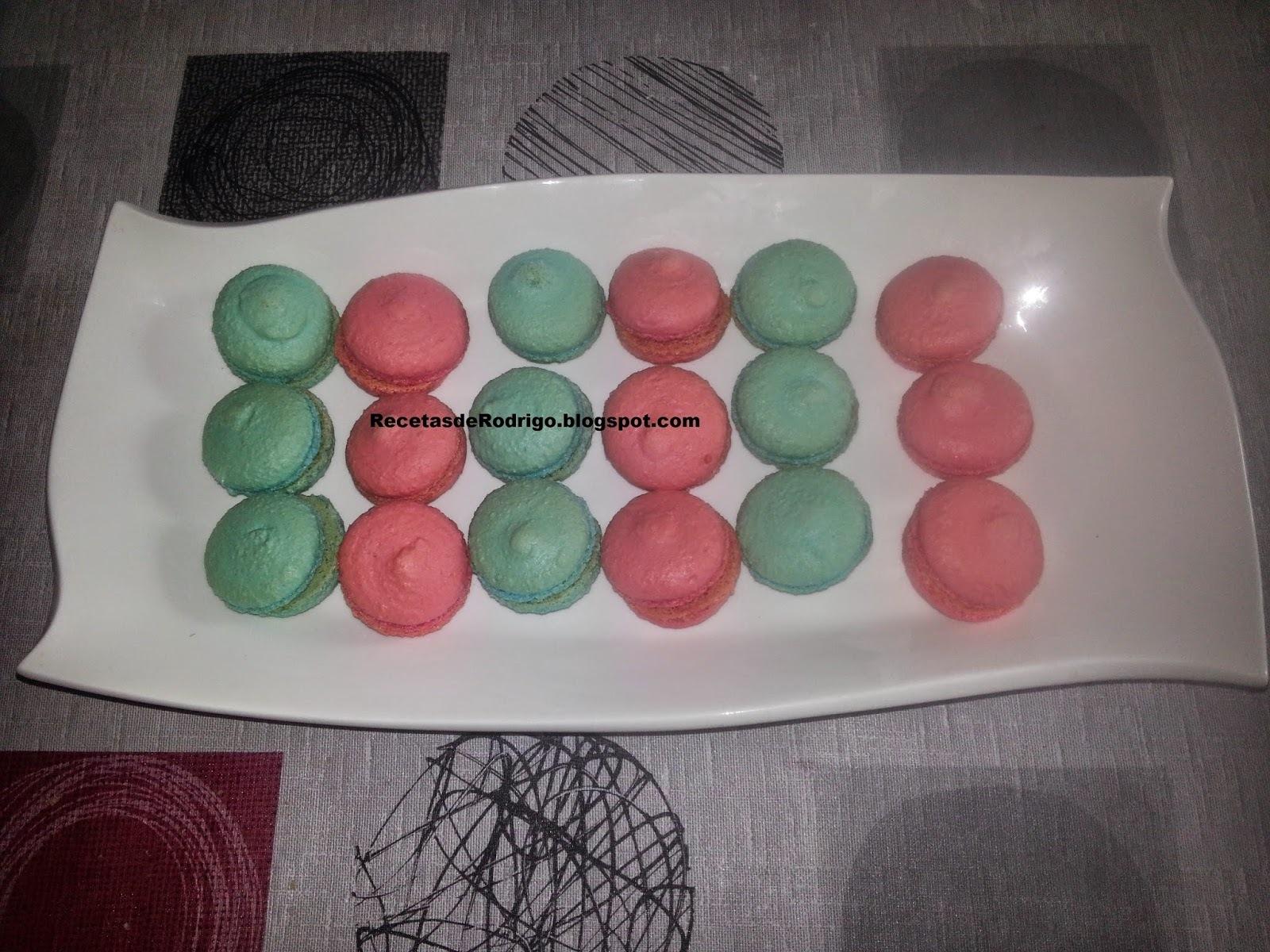 Repostería - Pastas Francesa - Macarons (II)(Difícil)