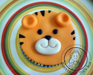 Cupcake animais da floresta