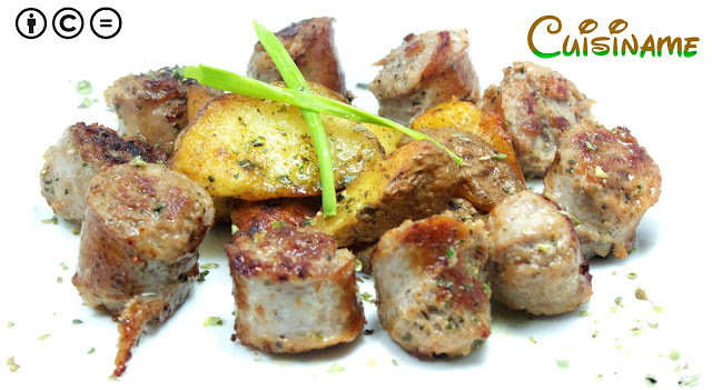 Butifarras | Receta con Patatas Fritas