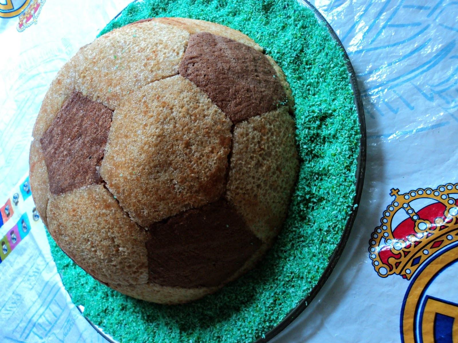 Tarta balón, cumpleaños de Manu
