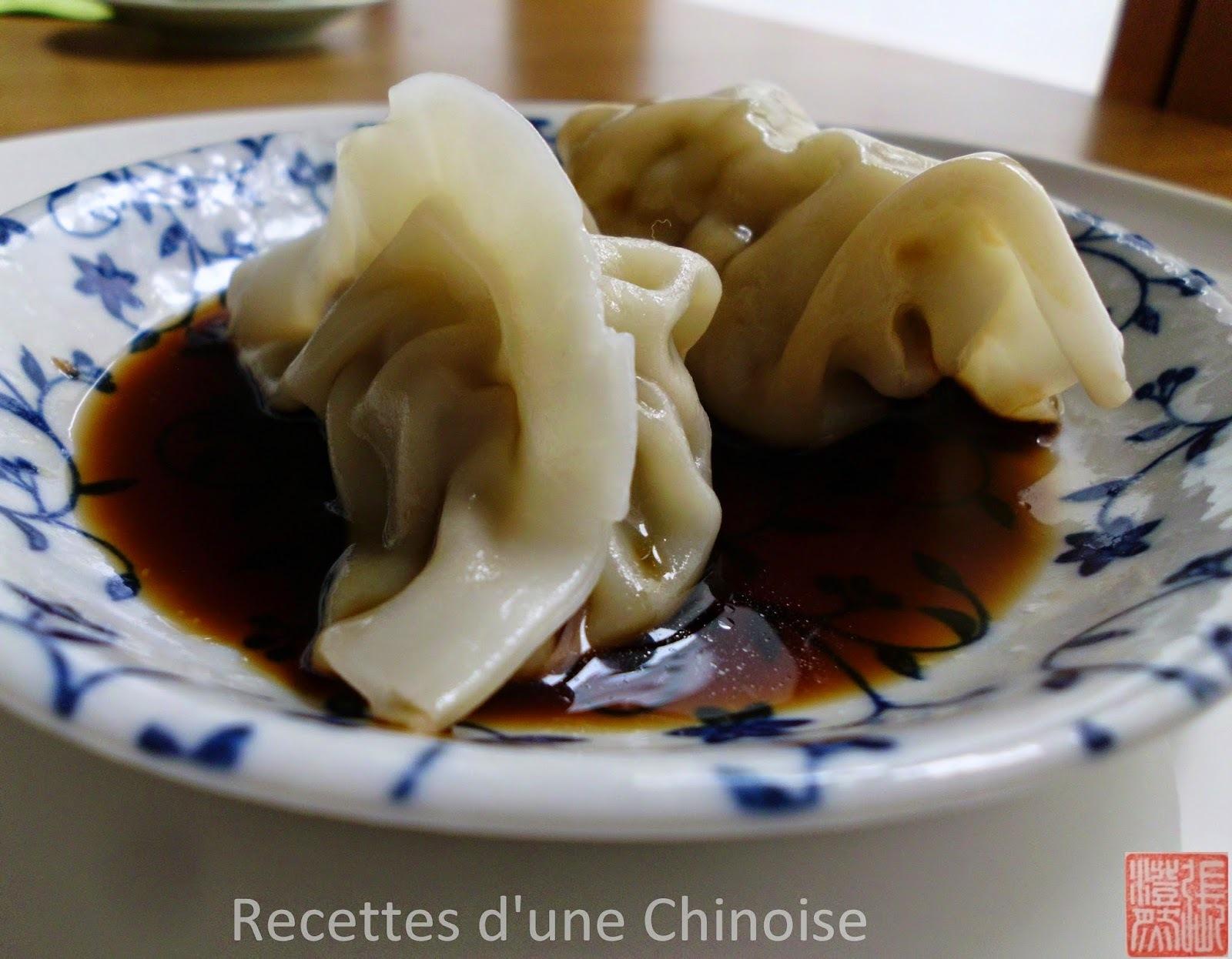 Idée menu Nouvel An chinois