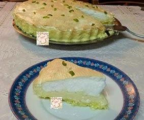 Torta e tortinhas de limão de limão - a minha moda