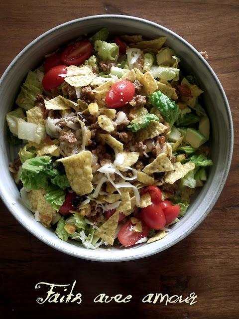 Salade tacos!