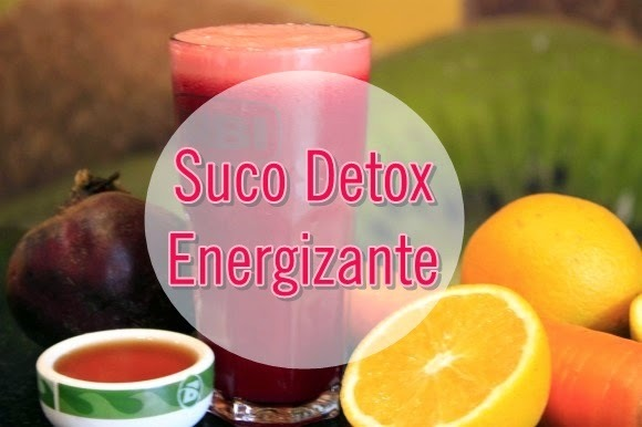 Manual da Dieta: Suco detox energizante