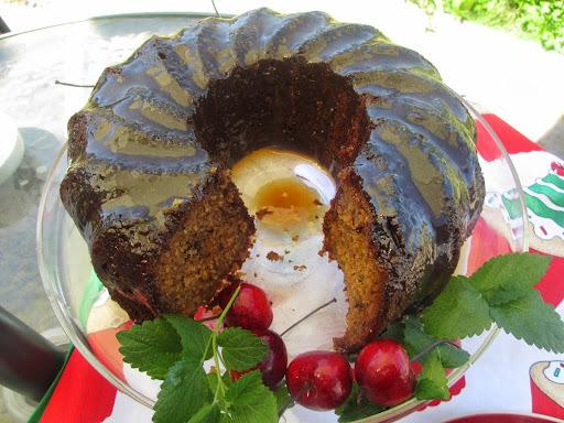 Sticky-toffe Bundt Cake
