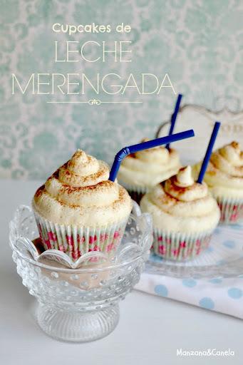 Cupcakes de canela y leche merengada: sabor a vacaciones de mi infancia