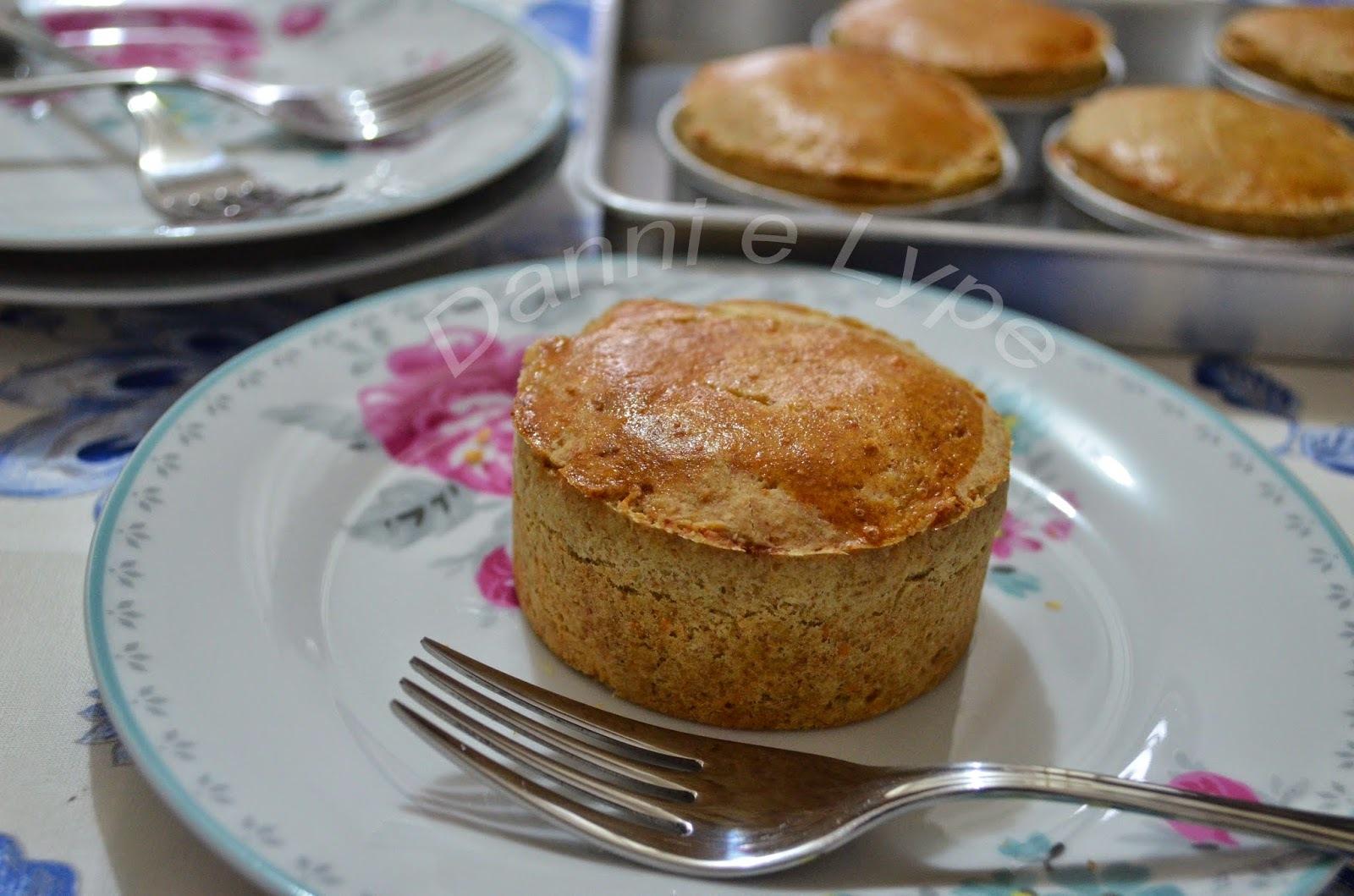 Mini Torta Integral de Frango com Requeijão
