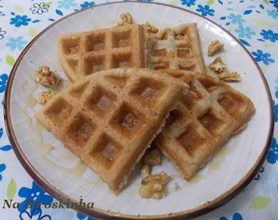 Waffle de Banana e Nozes -  SGSL