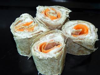 Sushi Light de Pão (+ variações)