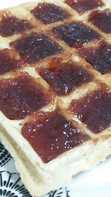 Waffles de Polvilho
