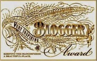 Selo Very Inspiring Blogger Award