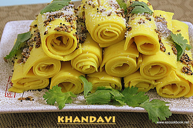 Khandvi - Traditional Gujarati Snack