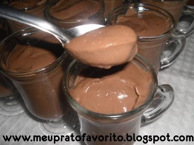 Creme de chocolate (Falso Chandelle)