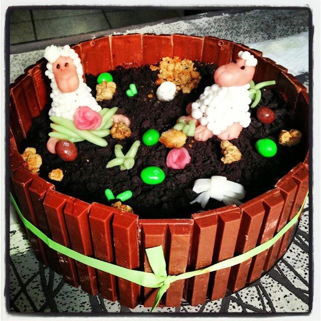 """Gâteau """"pré(s) des moutons"""""""