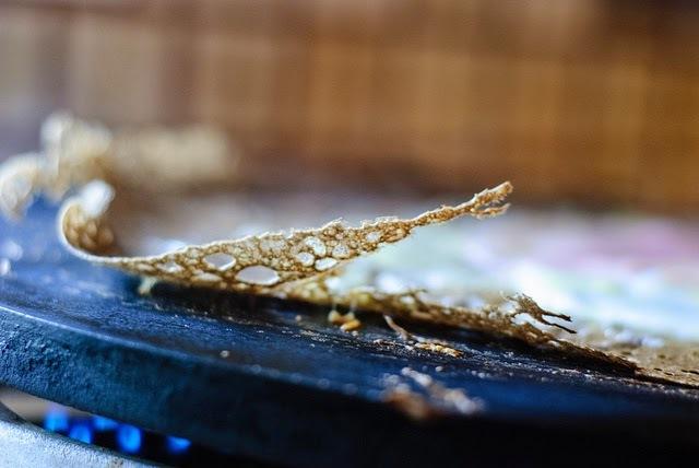 Recette de crêpes galettes bretonnes au beurre de chocolat ou café