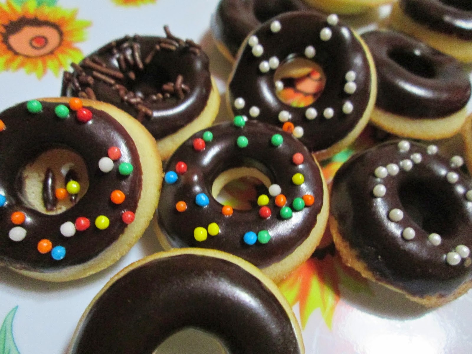 Donuts horneadas de Byron Talbott