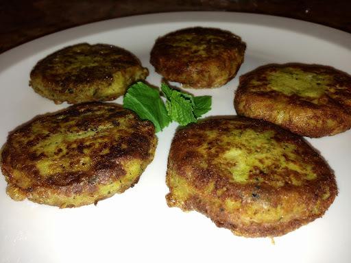 Fish shami kababs