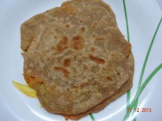 Stuffed Chapathi