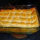 Torta de Frango Cremosa com Legumes