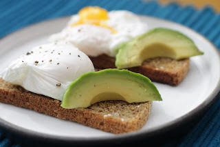 unusual poached eggs