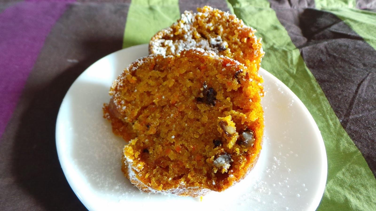 Rico y facil: Queque de zanahoria