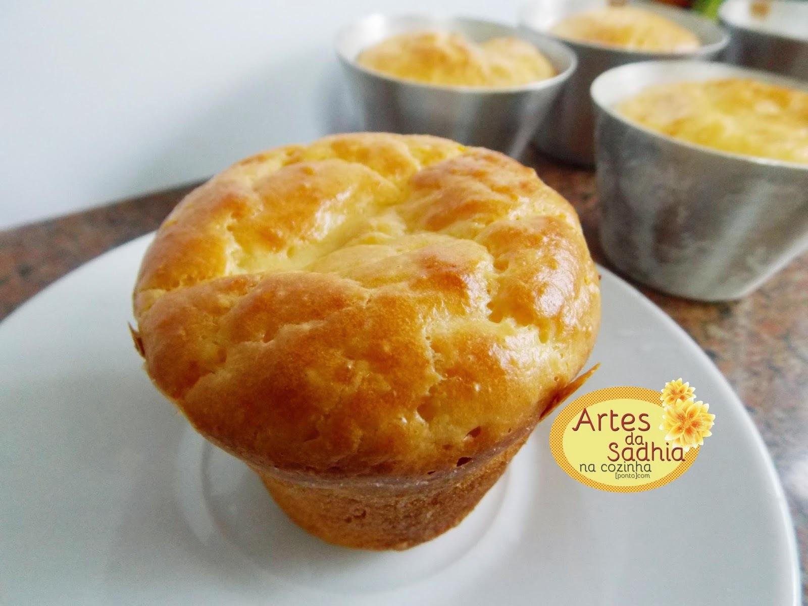 muffin de carne seca com queijo cremoso ( lanche da copa )